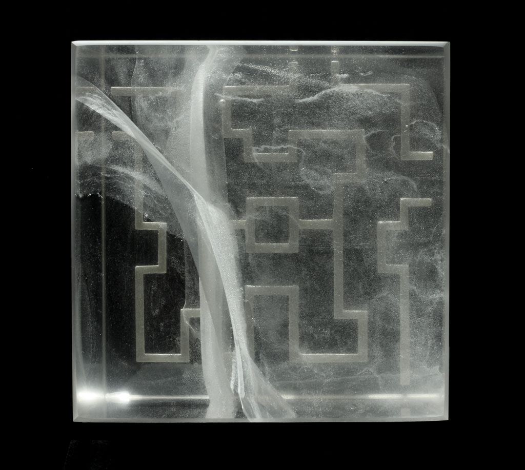 Labyrinth - Glass Sculpture by Anna Alsina Bardagi