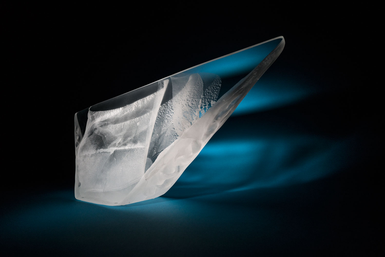 ANVIL glass sculpture by Anna Alsina Bardagí