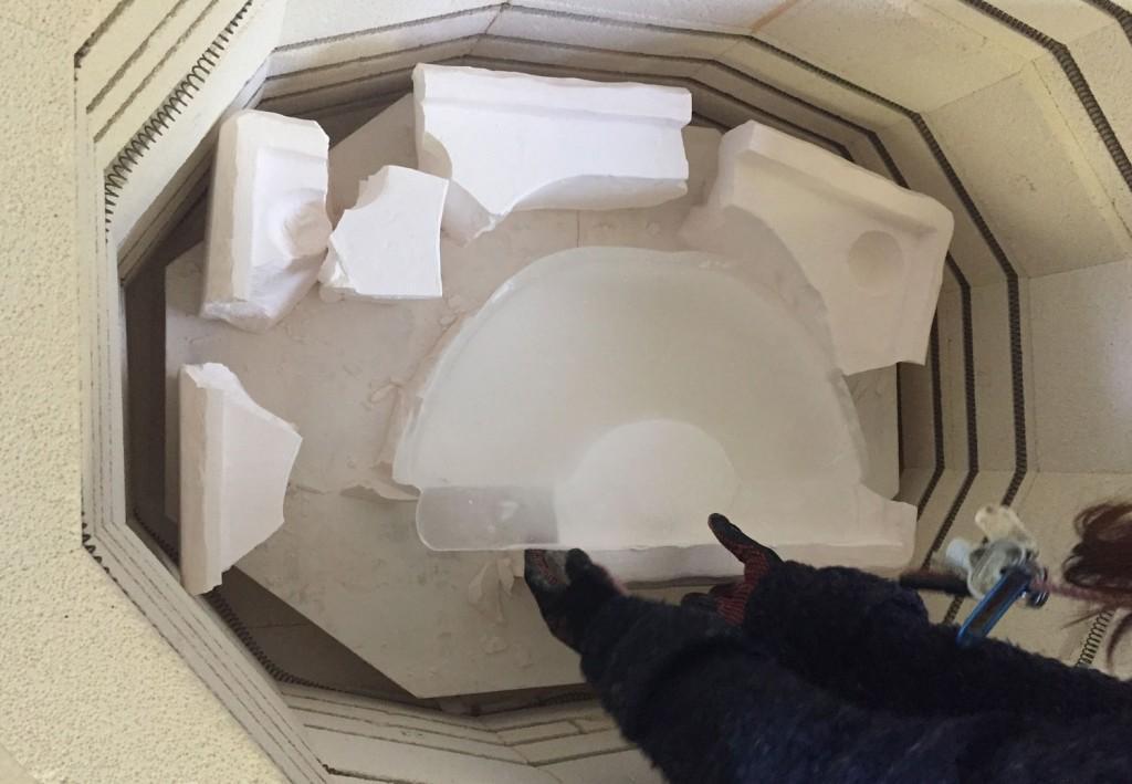 Kiln casting process