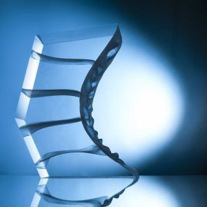 Arrow - contemporary glass sculpture