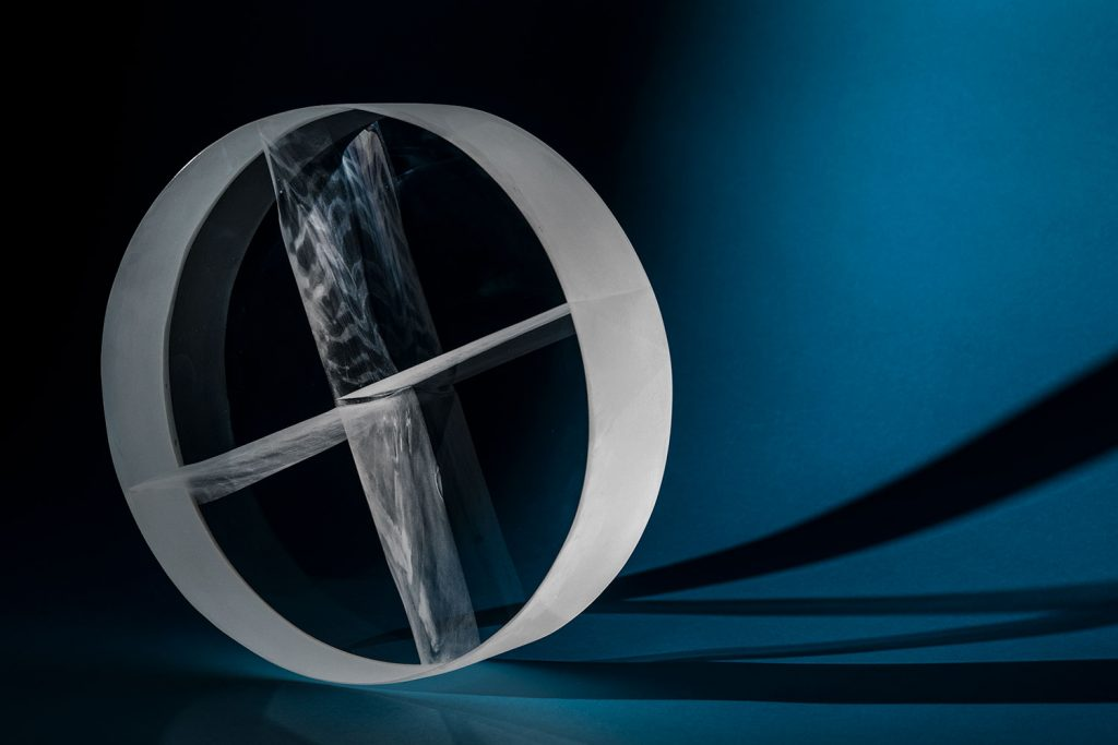 AXIS | Optical glass sculpture