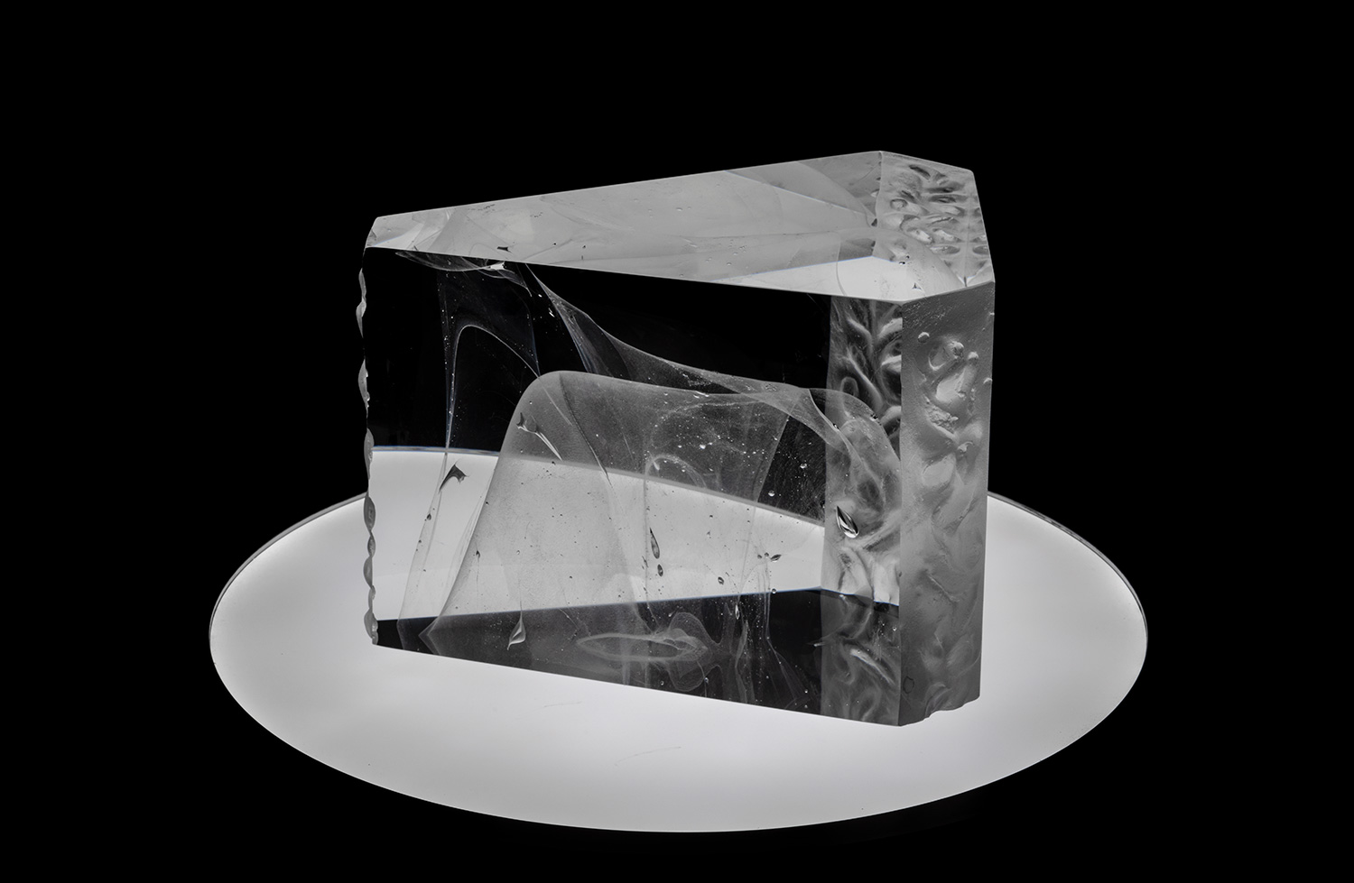 Magma | Contemporary glass sculpture