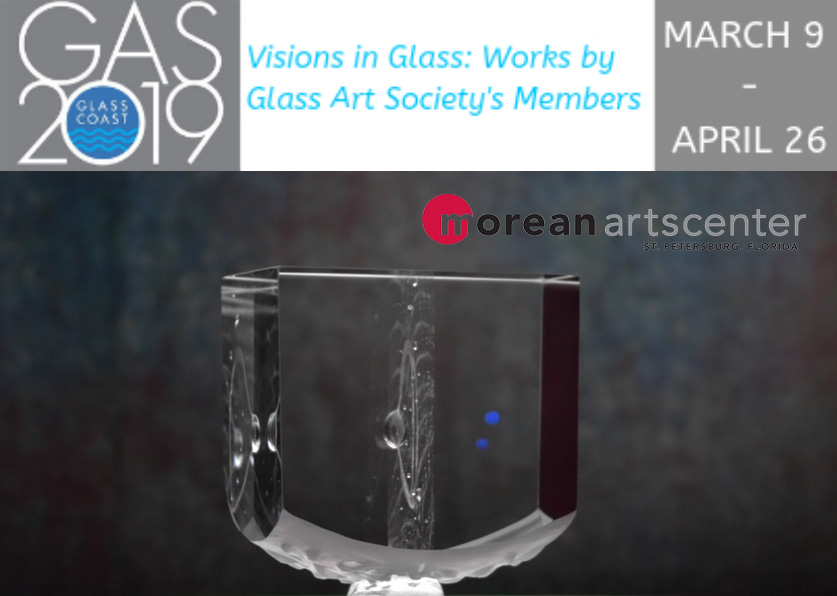 Glass Art Exhibition Morean Arts Center